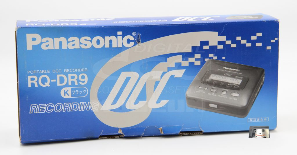 Panasonic RQ-DR9 - Box