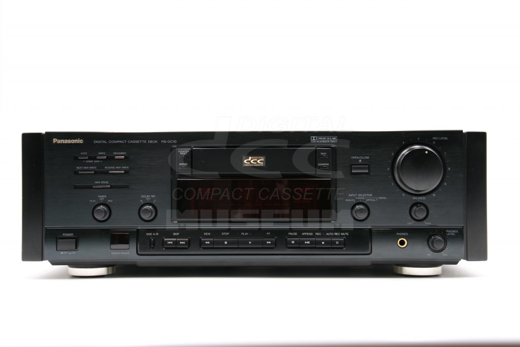 Panasonic RS-DC10 - Player Front