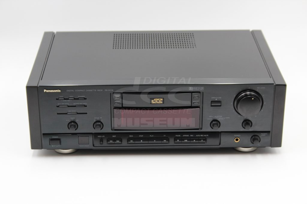 Panasonic RS-DC10 - Player Front Top