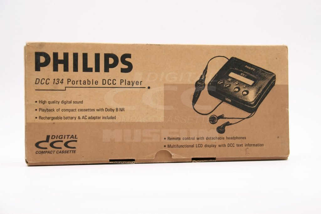 Philips DCC 134 - Box