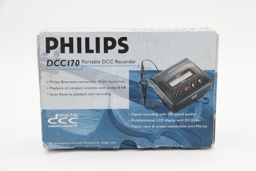 Philips DCC170 - Box Inflight