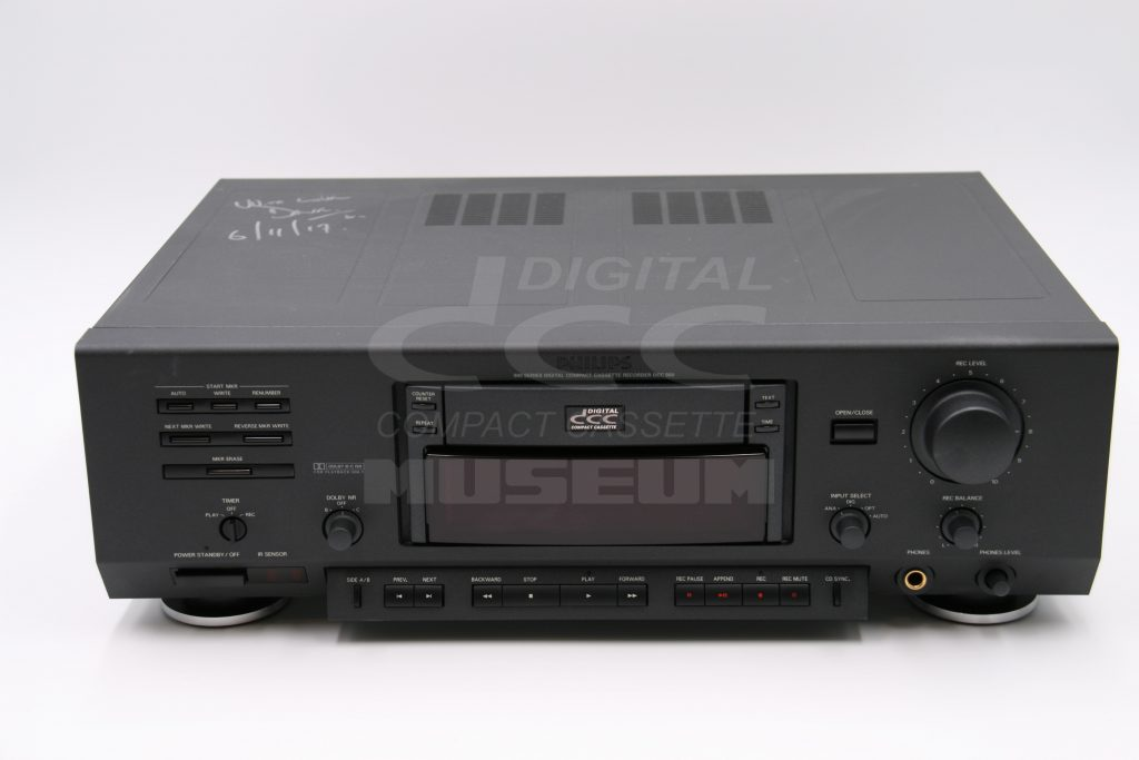 Philips DCC900 - Player