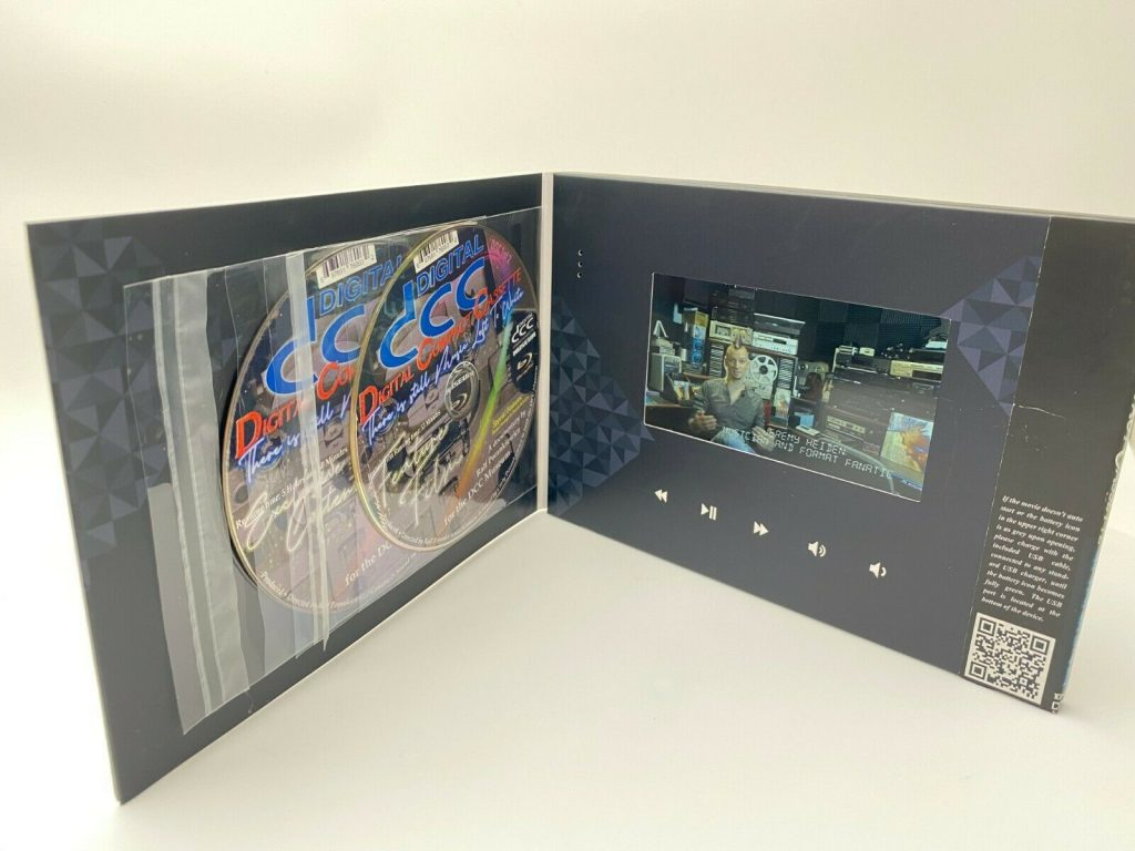The DCC Documentary Blu-Ray - Special Edition with screen built in the package ​