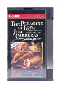 Carreras, Jose - The Pleasure Of Love (DCC)