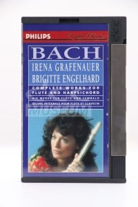 Grafenauer, Irena - Bach: Complete Works for Flute and Harpsichord (DCC)