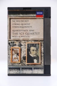 Schubert - Schubert: String Quartet in C, D.956 Quartettsatx, D703 (DCC)