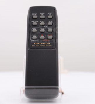 Optimus DCT-2000 - Remote